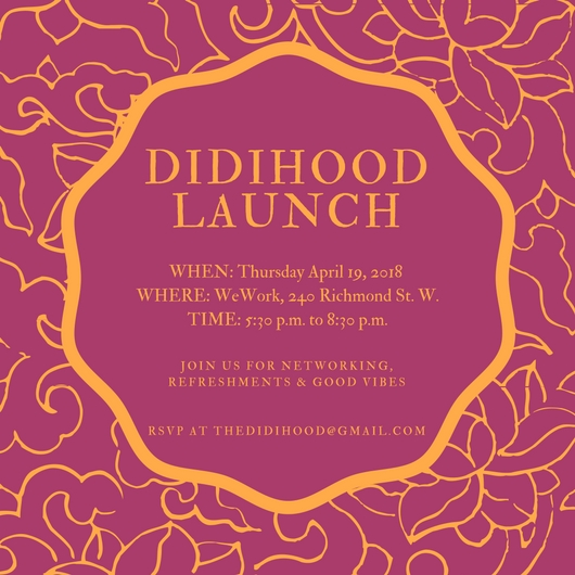 DIDIHOOD Launch